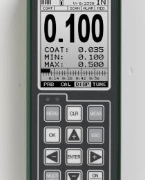 CMX réteg és falvastagságmérő