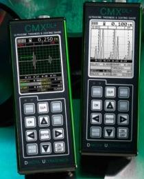 CMX DL+ réteg és falvastagságmérő